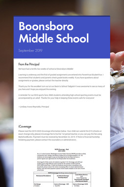 Boonsboro Middle School