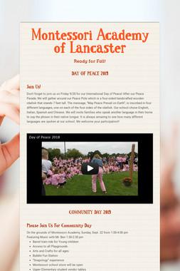 Montessori Academy of Lancaster