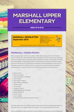 Marshall Upper Elementary