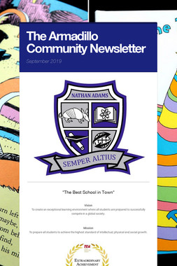 The Armadillo Community Newsletter