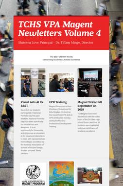 TCHS VPA Magent Newletters Volume 4