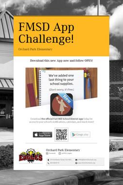 FMSD App Challenge!