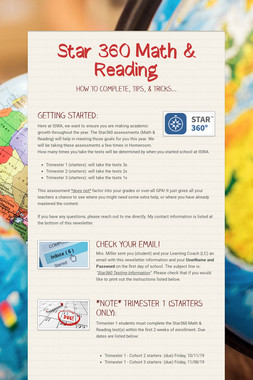 Star 360 Math & Reading