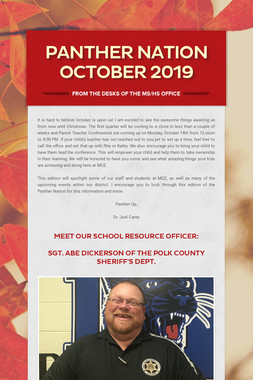 Panther Nation October 2019