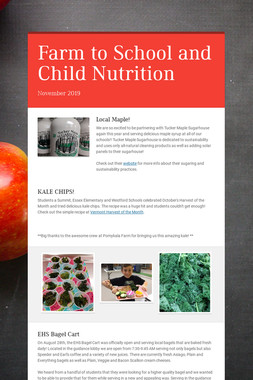 Farm to School and Child Nutrition