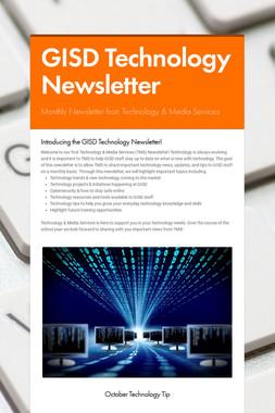 GISD Technology Newsletter