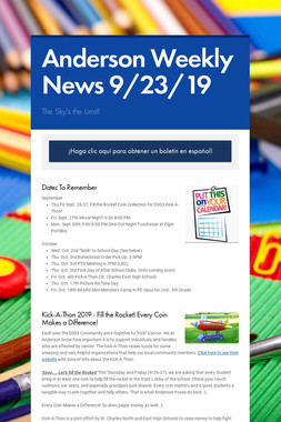 Anderson Weekly News 9/23/19