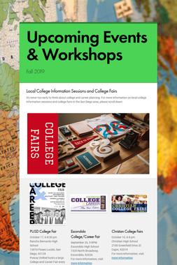 Upcoming Events & Workshops