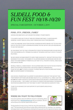 SLIDELL FOOD & FUN FEST 10/18-10/20