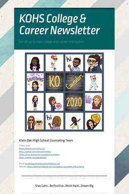KOHS College & Career Newsletter
