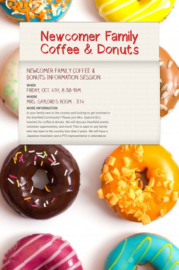 Newcomer Family Coffee & Donuts