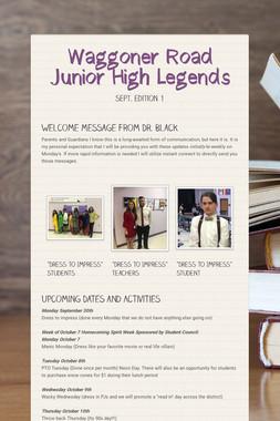 Waggoner Road Junior High Legends