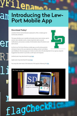 Introducing the Lew-Port Mobile App