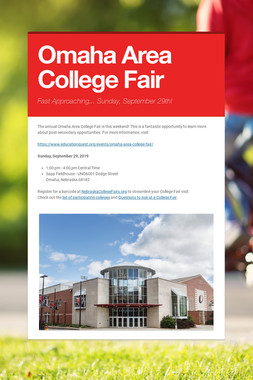 Omaha Area College Fair
