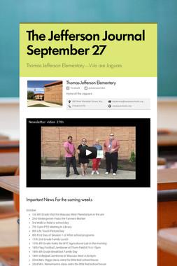 The Jefferson Journal September 27