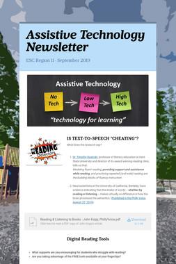 Assistive Technology Newsletter