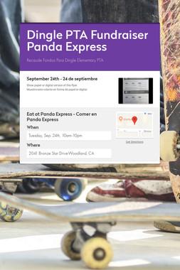 Dingle PTA Fundraiser Panda Express