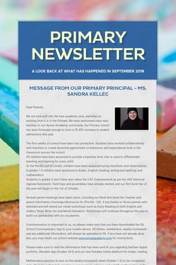 Primary Newsletter