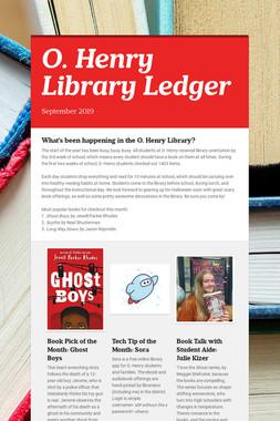 O. Henry Library Ledger