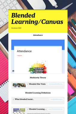 Blended Learning/Canvas