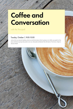 Coffee and Conversation