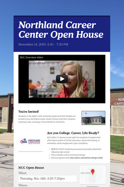 Northland Career Center Open House