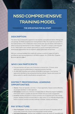 NSSD Comprehensive Training Model