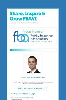 Share, Inspire & Grow FBAVI