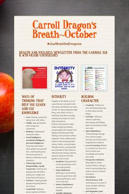 Carroll Dragon's Breath~October