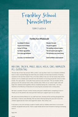Frankley School Newsletter