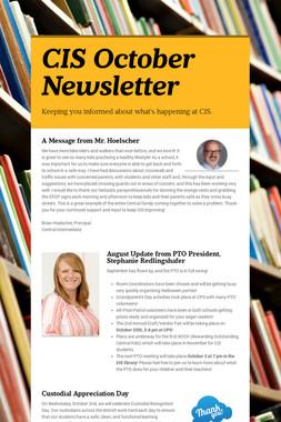 CIS October Newsletter