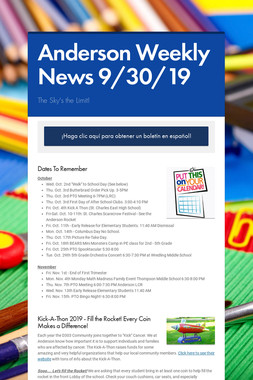 Anderson Weekly News 9/30/19