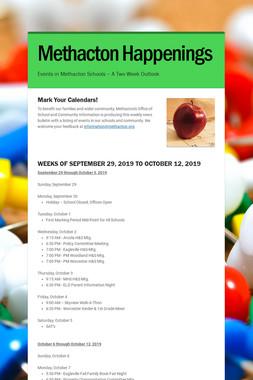 Methacton Happenings