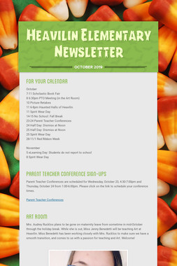 Heavilin Elementary Newsletter