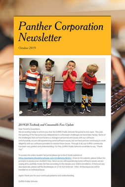 Panther Corporation Newsletter