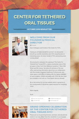 Center for Tethered Oral Tissues
