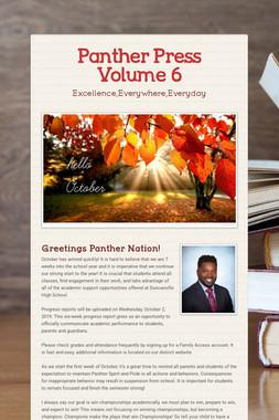 Panther Press Volume 6