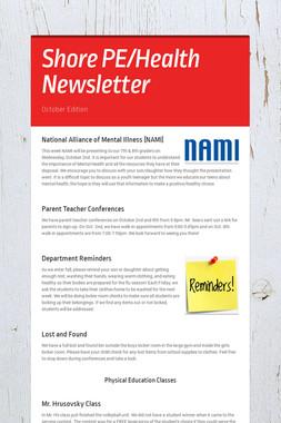 Shore PE/Health Newsletter