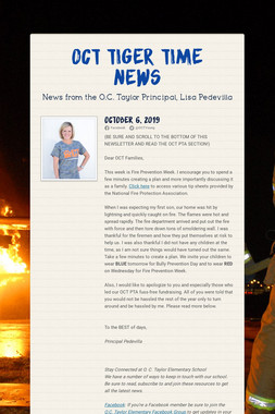 OCT Tiger Time News