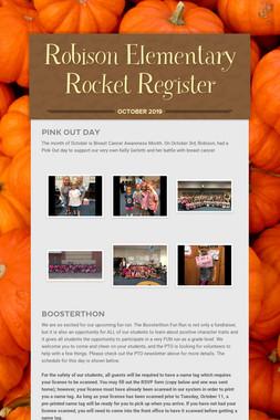 Robison Elementary Rocket Register