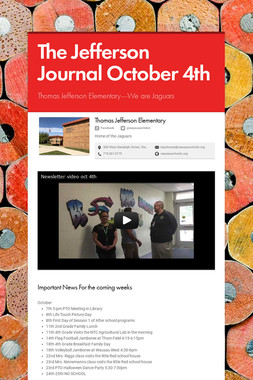 The Jefferson Journal October 4th