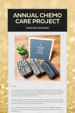 Annual Chemo Care Project