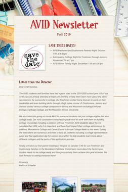 AVID Newsletter