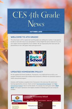 CES 4th Grade News
