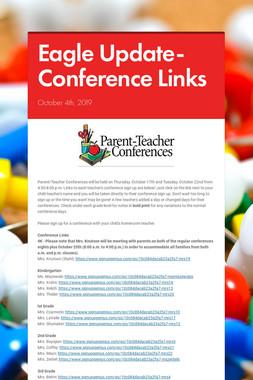 Eagle Update-Conference Links