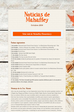 Noticias de Mahaffey
