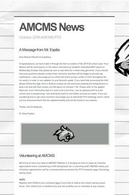 AMCMS News