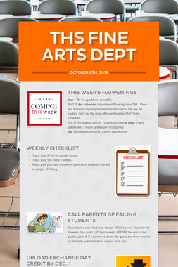 THS Fine Arts Dept