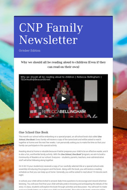CNP Family Newsletter