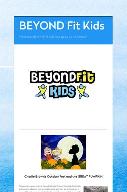 BEYOND Fit Kids